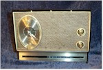 Silvertone 47 Clock Radio (Late 1960s)