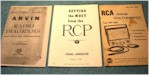 Arvin,  RCP,  RCA Manuals