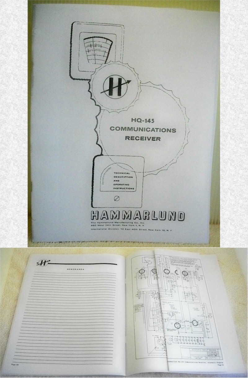 Hammarlund HQ-145 Manual