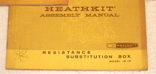 Heathkit IN-12 Assembly Manual