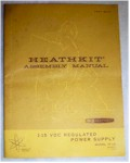 Heathkit IP-15 Power Supply Manual