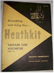 Heathkit V-7A Vacuum Tube Voltmeter Owners Manual