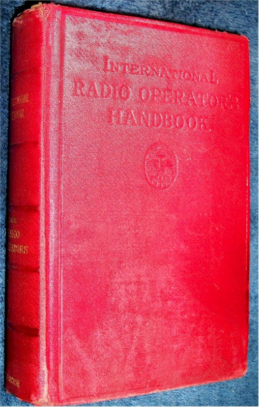 International Radio Operators Handbook (1926)