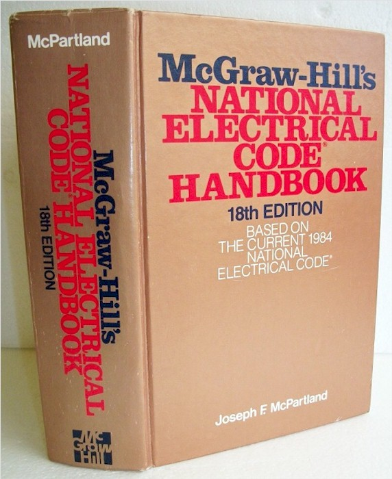 National Electrical Code Handbook 18th Ed.