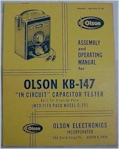 Olson KB-147 Assembly & Operating Manual