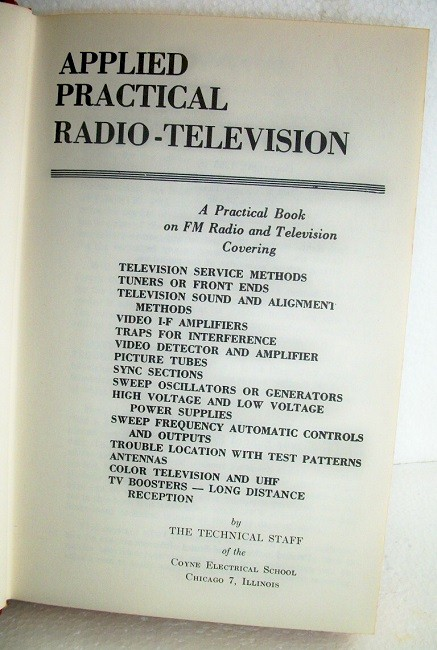 Practical Television Servicing and Trouble Shooting Manual #5