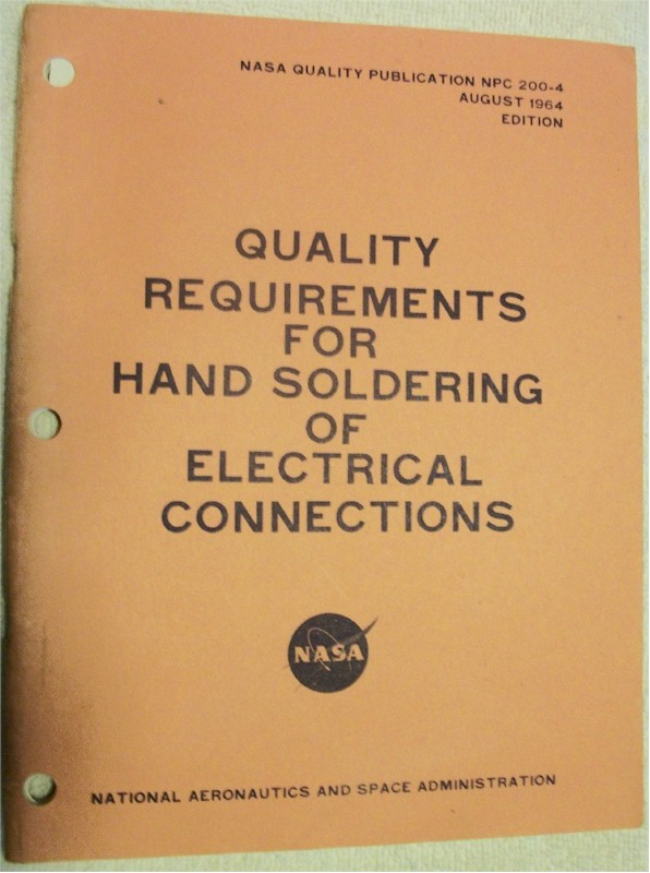 Quality Requirements for Hand Soldering of Electrical Connections