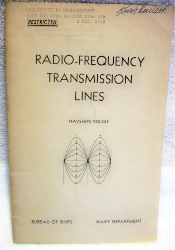 Radio-Frequency Transmission Lines