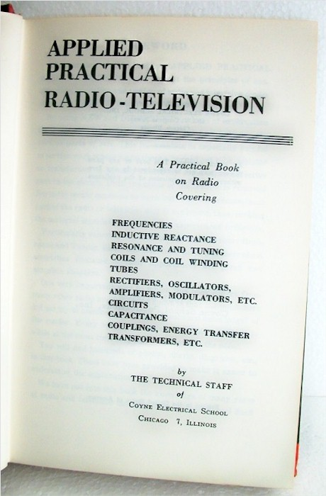 Radio and Television Principles #1