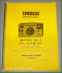 Sprague Tel-Ohmike TO-5 Analyzer Operating Manual