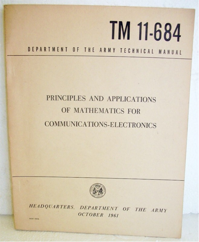 Principles and Applications of Mathematics for Communications-Electronics