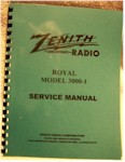 Zenith Royal 3000-1 Service Manual
