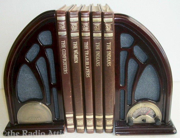 Philco Bookend Cathedral Radio