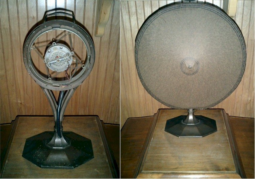 Western Electric Paper Cone Speaker and Microphone.