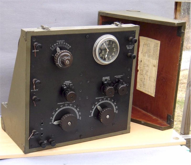 Westinghouse BC 98 WWI Receiver