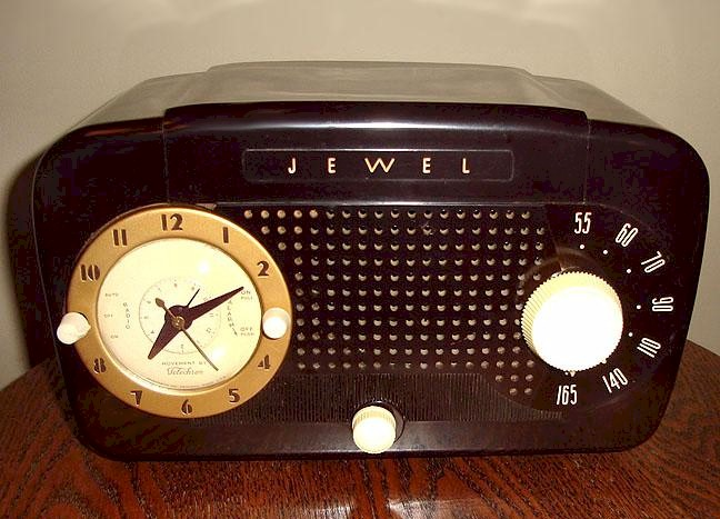 Jewel 915K Clock Radio (1949)