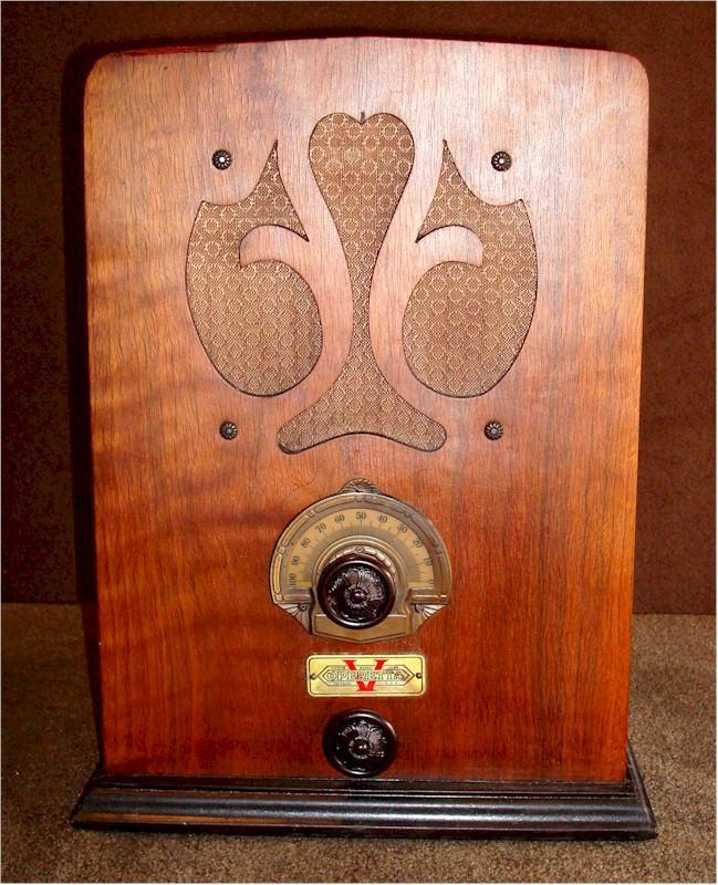 Victor Radio Corporation Operetta V Tombstone (1934)