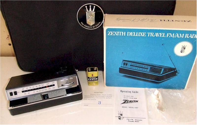 Zenith Royal C25 Set