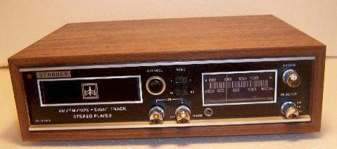 Strauss 8 Track Stereo Player