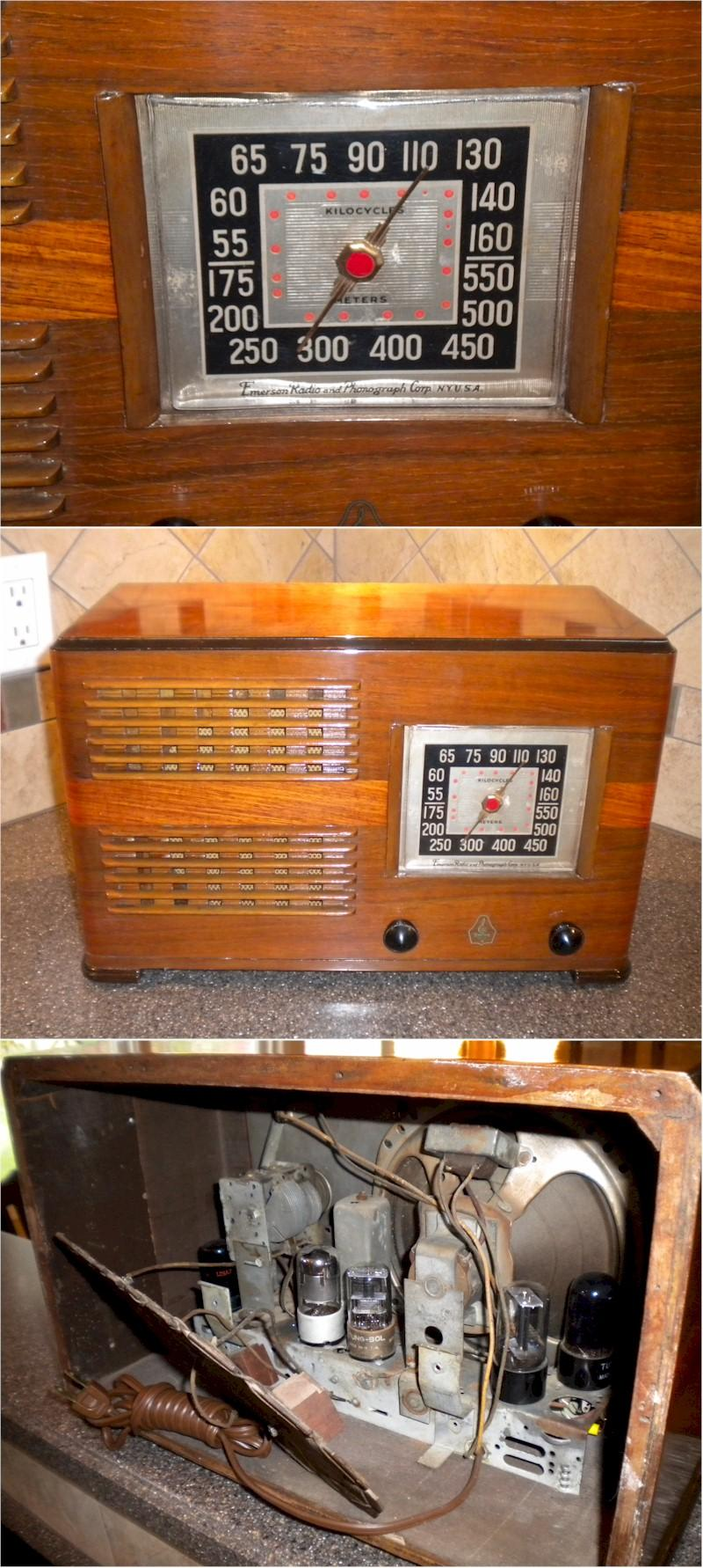 Emerson EH342 w/Ingraham Cabinet (1941)