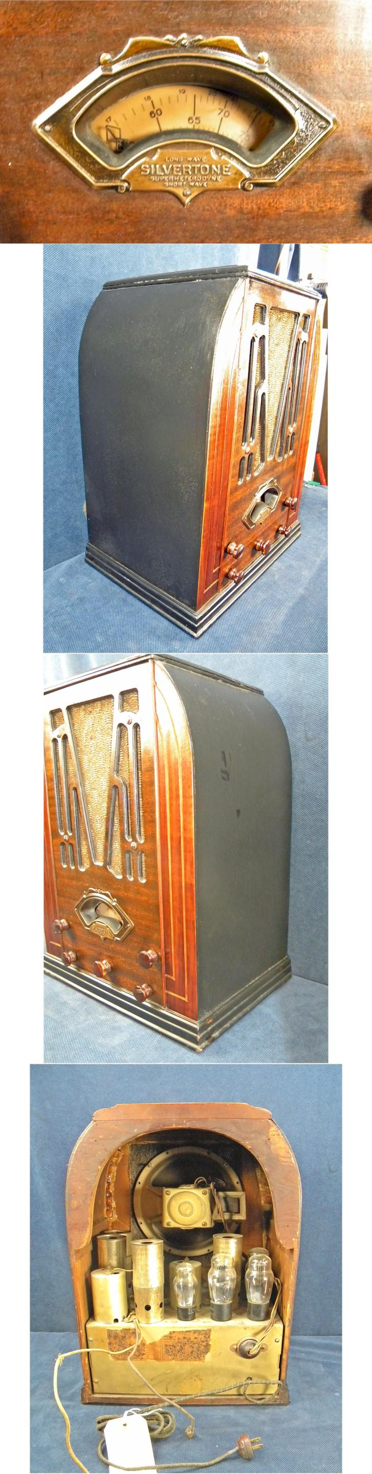 "Silvertone 1708 ""World's Fair"" Tombstone (1933)"