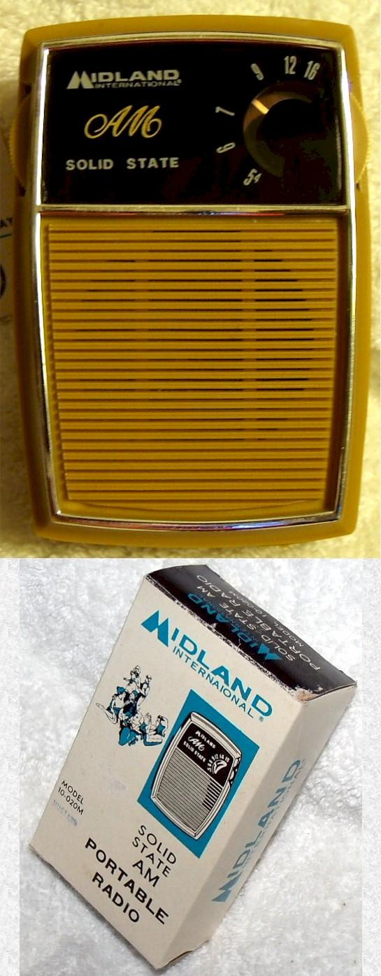 Midland Transistor Set 10-020M (early 70s)