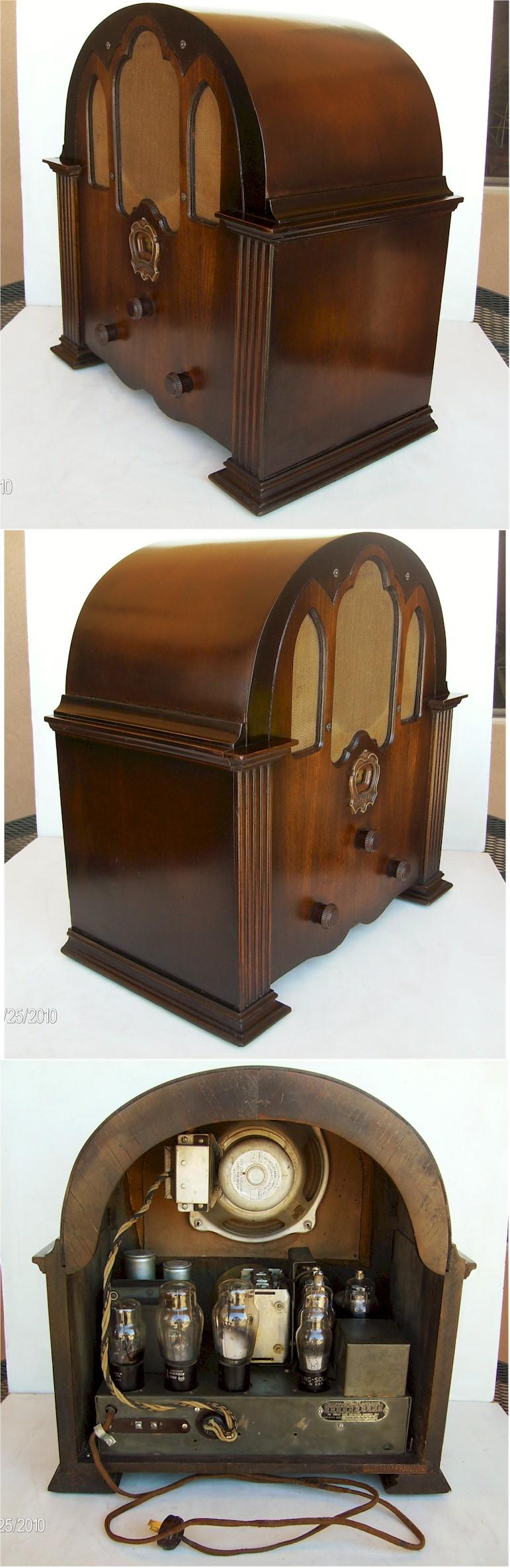 "Crosley 1-H ""The Playboy"" Cathedral"