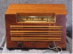 General Electric Wooden Table Radio