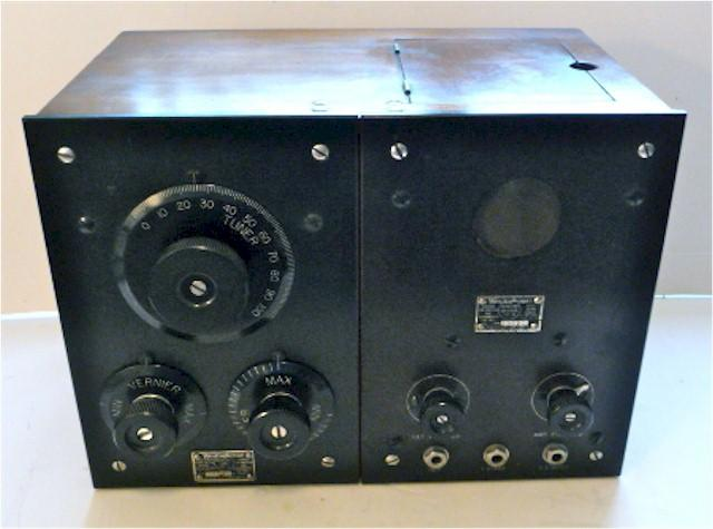 Westinghouse RC Regenerative Receiver