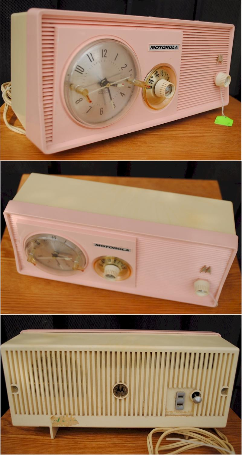 Motorola 5C14PW Clock Radio (1959)