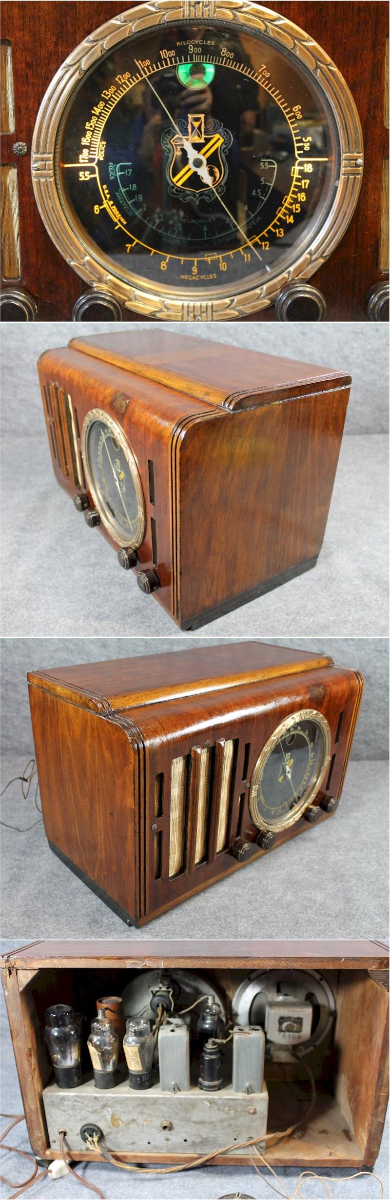 Unknown Big Dial Table Radio