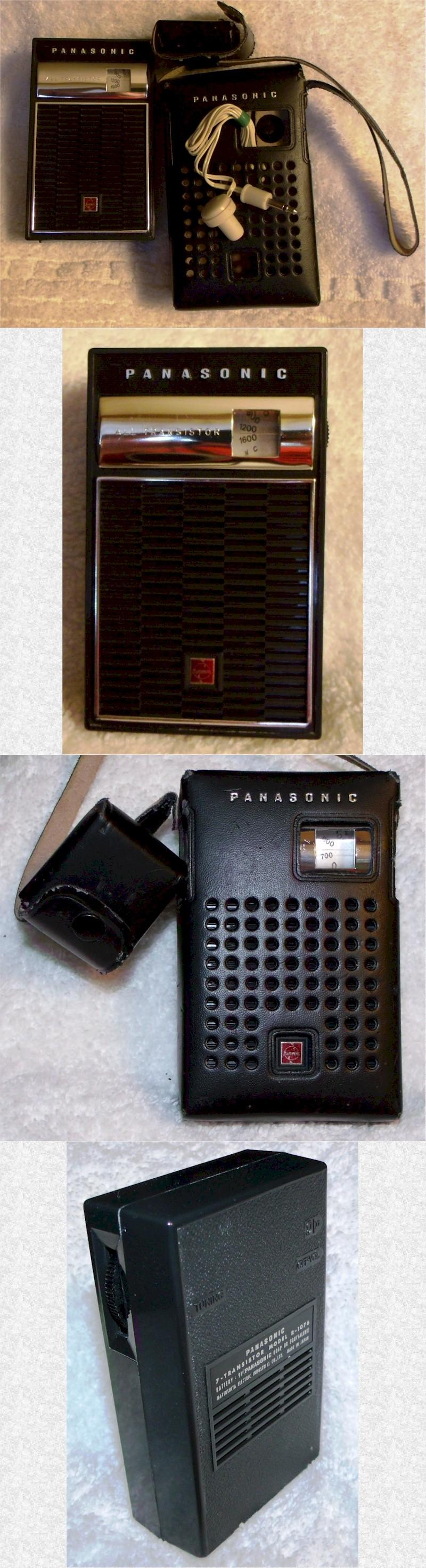 Panasonic R-1076 Pocket Transistor (1965)