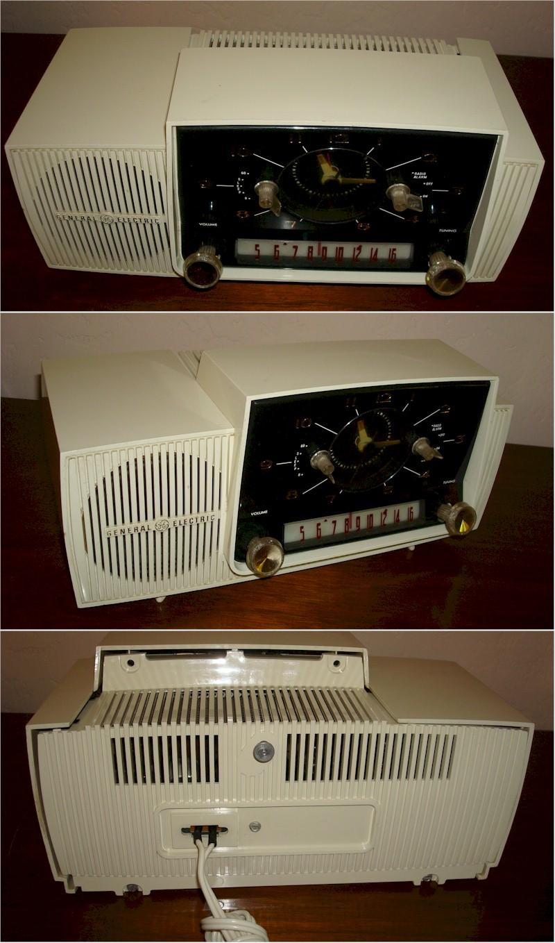 General Electric C-430 Clock Radio (1960)