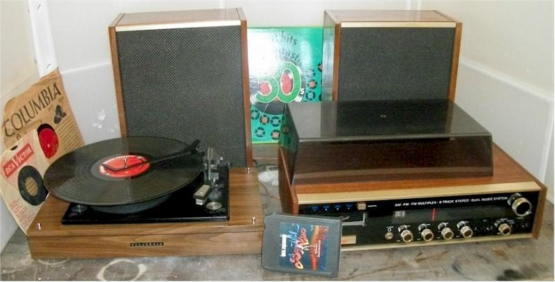 Decca Stereo with Panasonic/BSR Record Changer