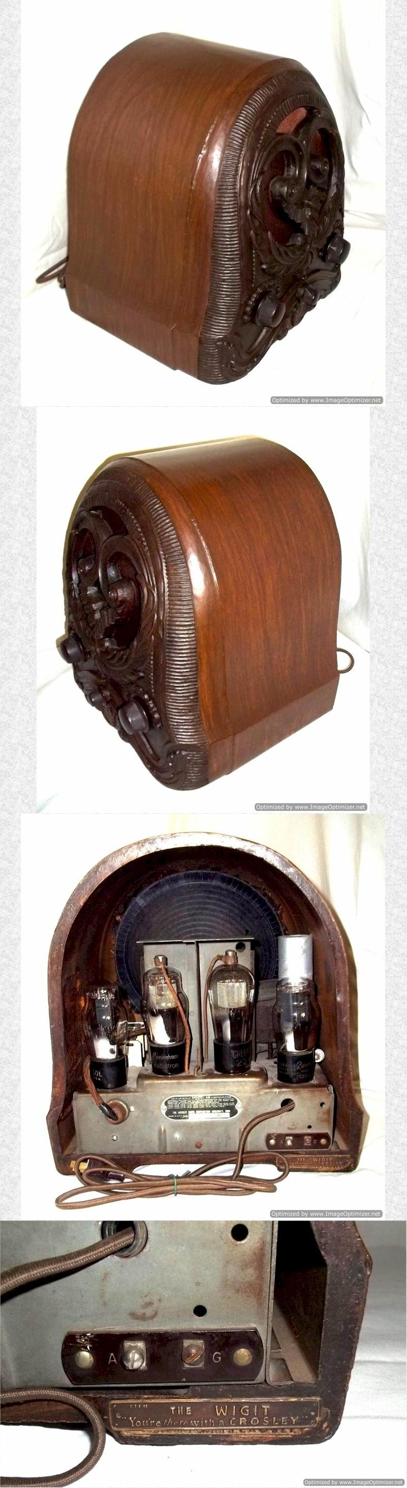 "Crosley 48 ""The Wigit"" Mini-Cathedral (1931)"