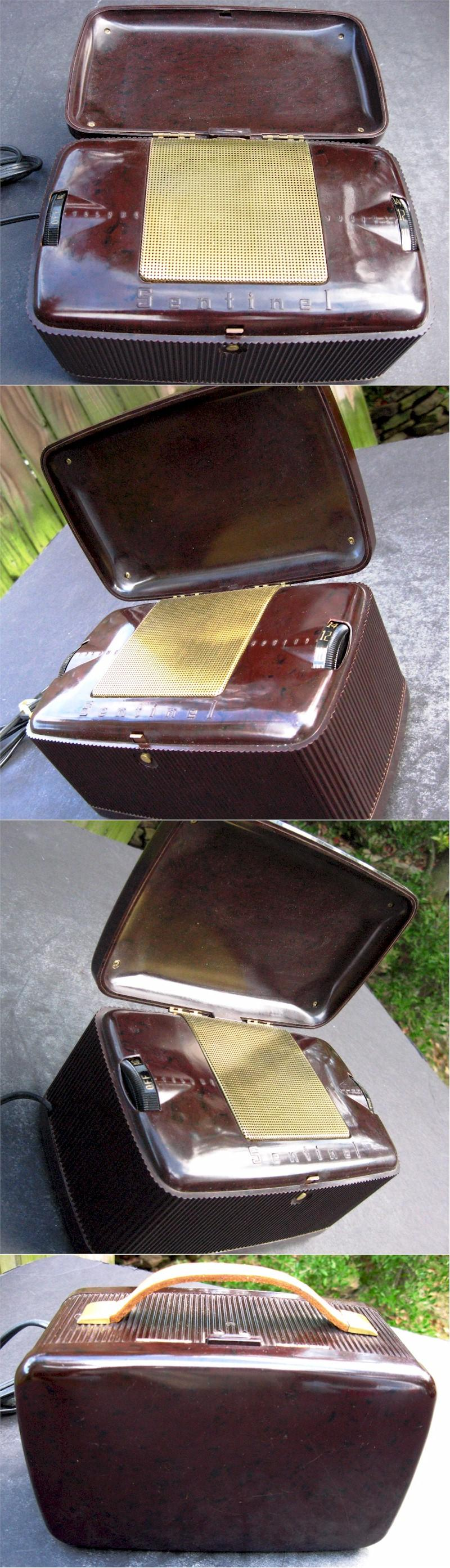 "Sentinel 286P ""Treasure Chest"" Portable (1947)"
