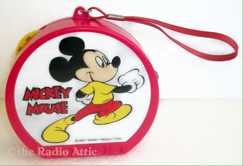 Mickey Mouse Transistor Radio