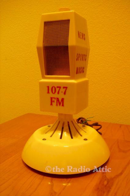 FM Microphone Advertising Radio (1960s)