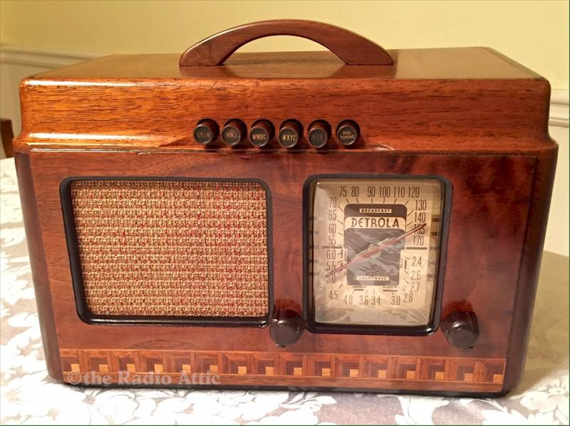 Detrola 310 AM/Shortwave (1939)