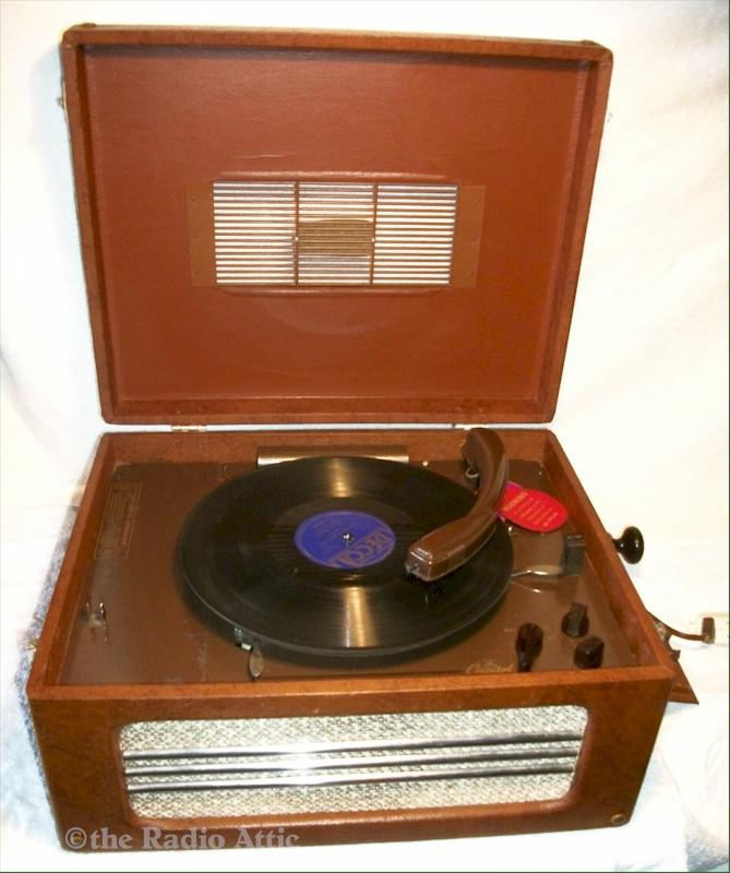 Capital Portable Record Player (1940s)