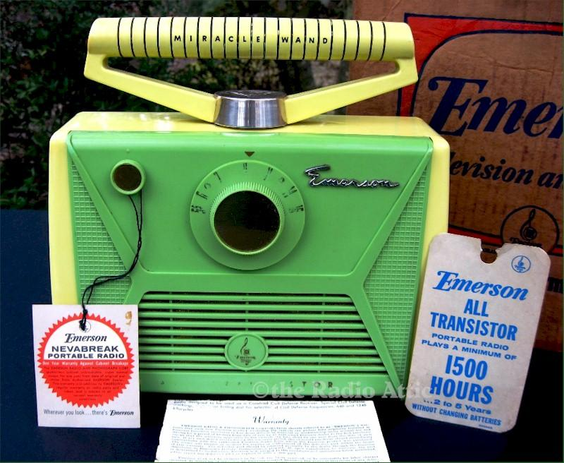 "Emerson 868 ""Miracle Wand"" Portable (1957)"
