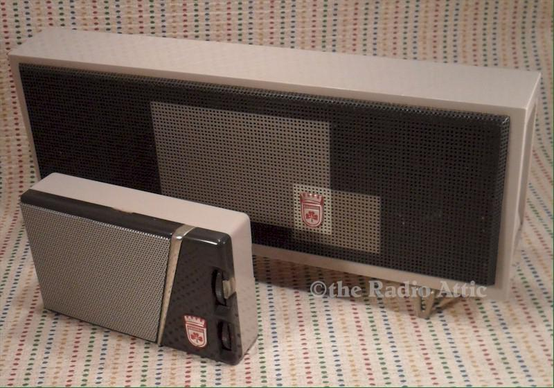 Grundig Mini-Boy 200 with Speaker Box