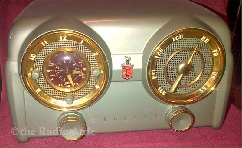 Crosley D-25 Clock Radio