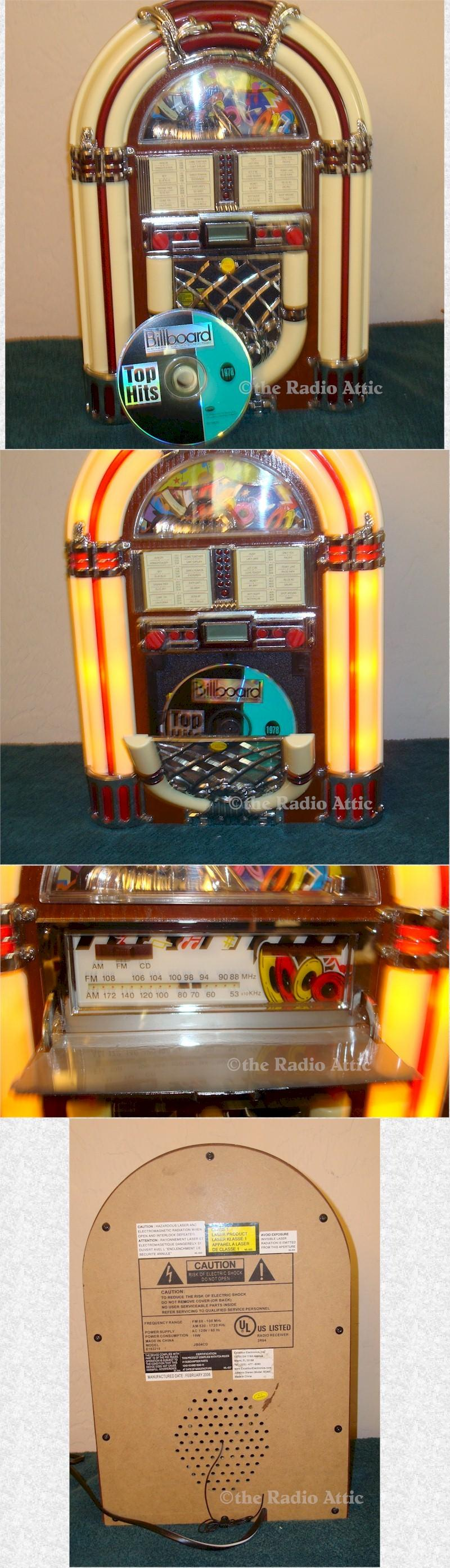 "Excaliber RD66 AM/FM/CD ""Jukebox"" (2006)"