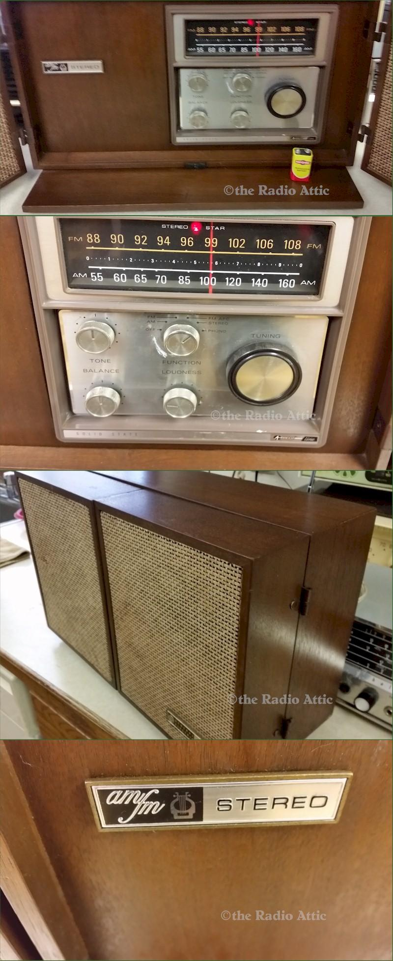 General Electric T1025A AM/FM Stereo