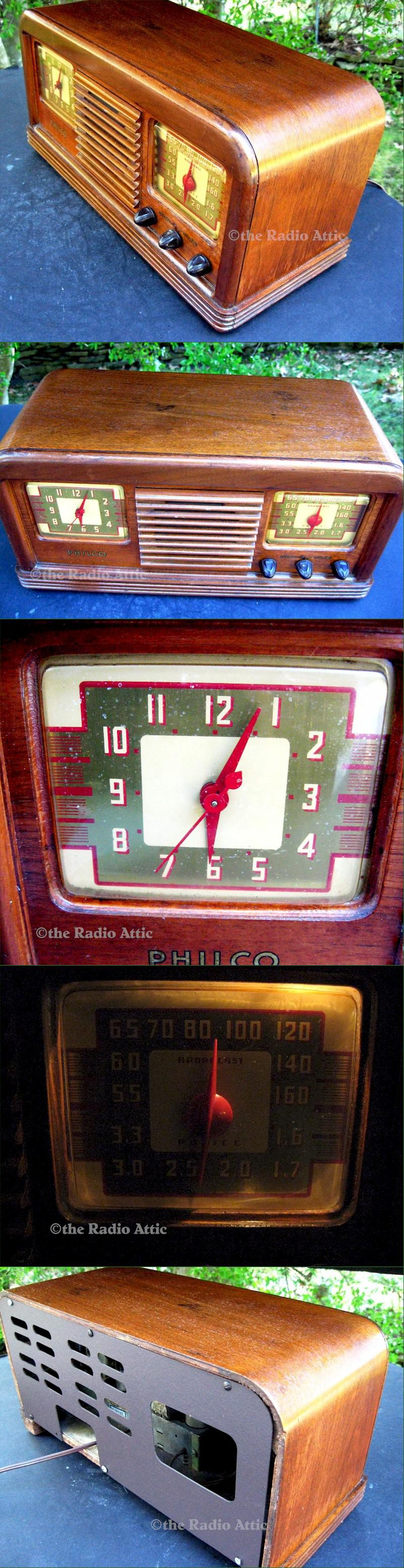 Philco 41-22CL Clock Radio (1941)