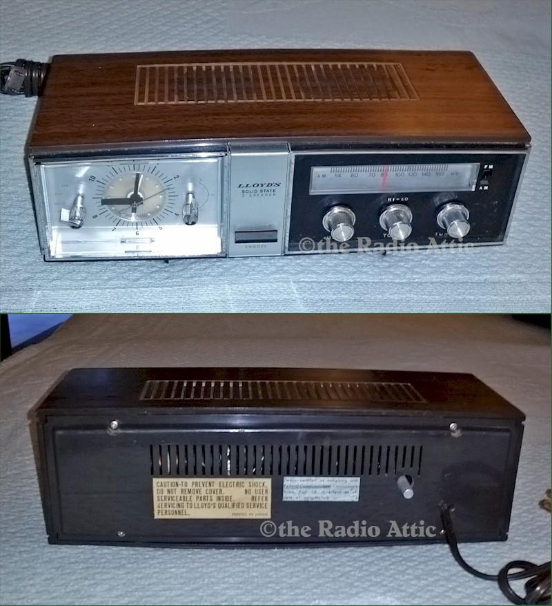 Lloyds Clock Radio (1970s)