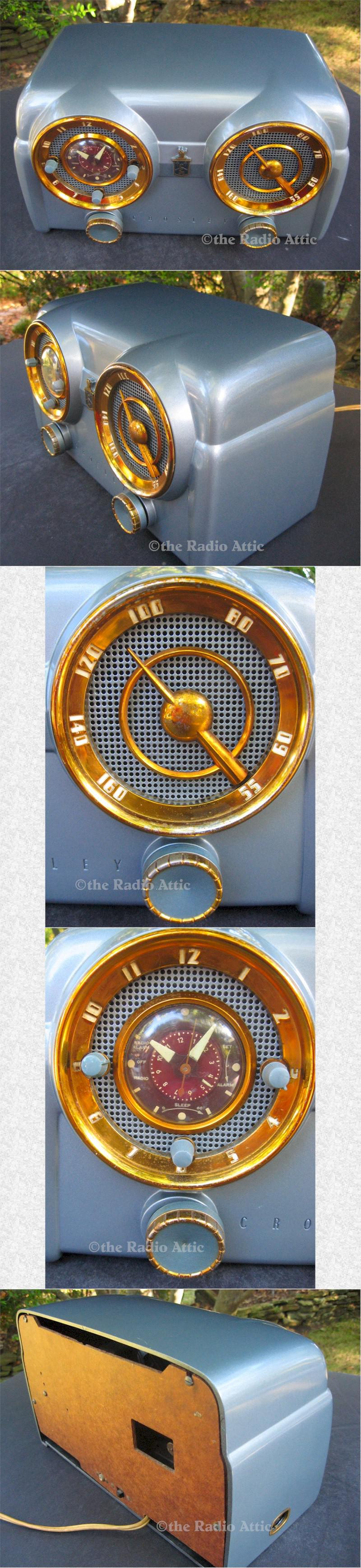 Crosley D-25-BE Clock Radio (1953)