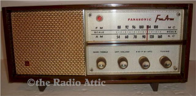 Panasonic RE-763 AM/FM