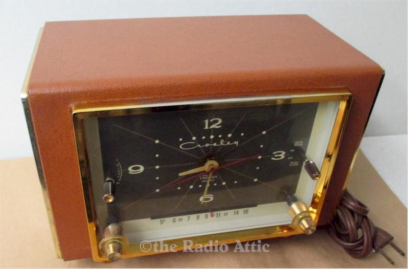 Crosley JC-8BN Clock Radio (1953)
